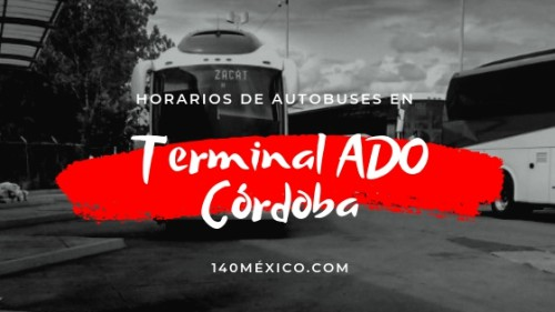 Terminal de Autobuses ADO en Córdoba