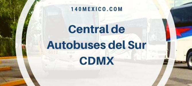 Central de Autobuses del Sur de la Ciudad de México