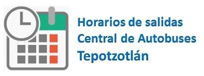 Horarios Central Tepotzotlán