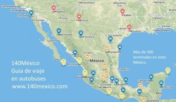 Mapa 140mexico.com