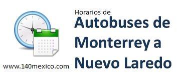 Horarios Central de Monterrey