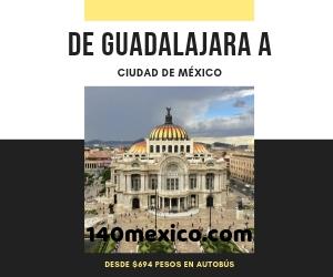 Autobuses para ir de Guadalajara a Ciudad de México