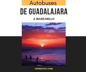 Horarios de Autobuses de Guadalajara a Manzanillo