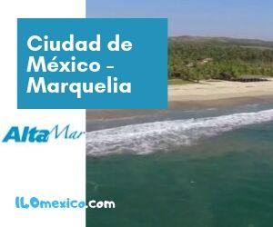 Tarifas de autobuses de la Ciudad de México a Marquelia